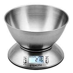 balanza digital cocina pesar alimentos