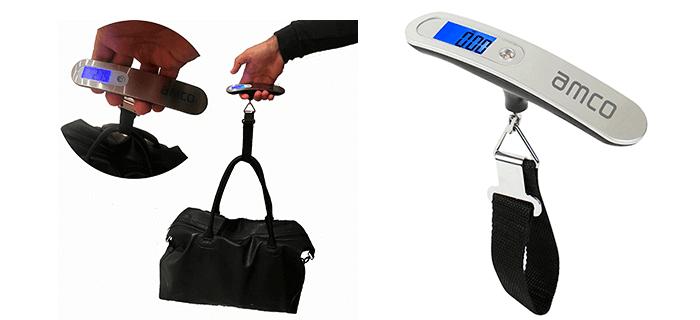 bascula para pesar maletas