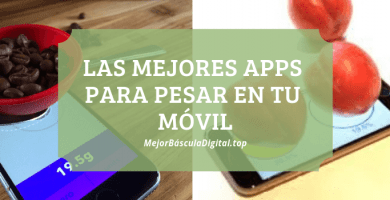 apps pesar movil gramos